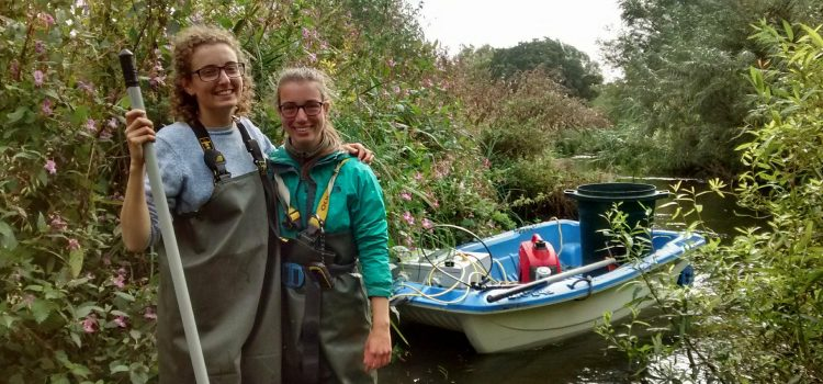 """An incredible experience"" – tagging on the River Frome"